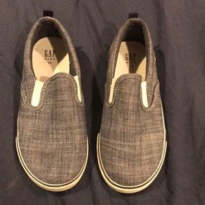 Boys GAP size 13 slip in sneakers